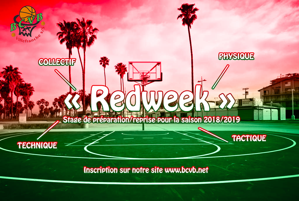 RED WEEK 2018 - Inscriptions en ligne