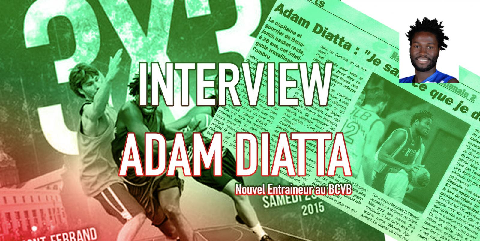 Interview // Adam DIATTA