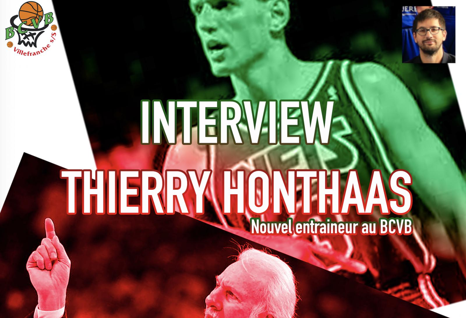 Interview // Thierry HONTHAAS