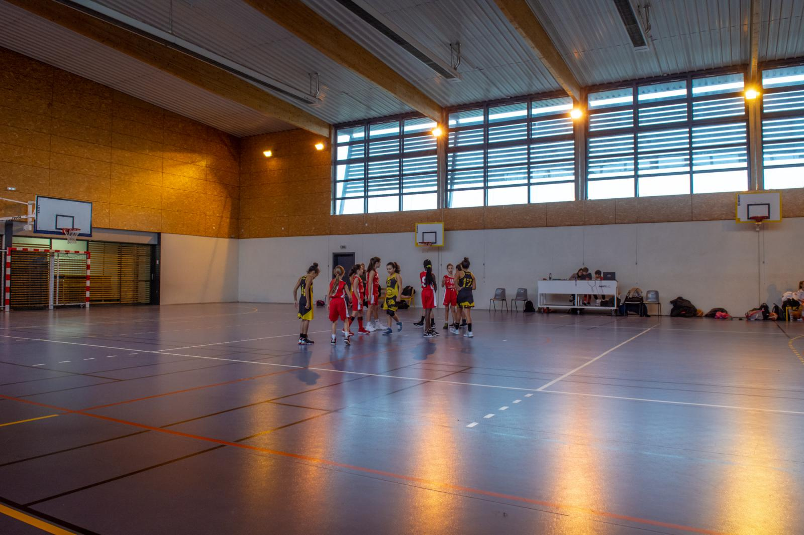 Photos Match U11 filles BCVB VS St Priest 2018.12.15